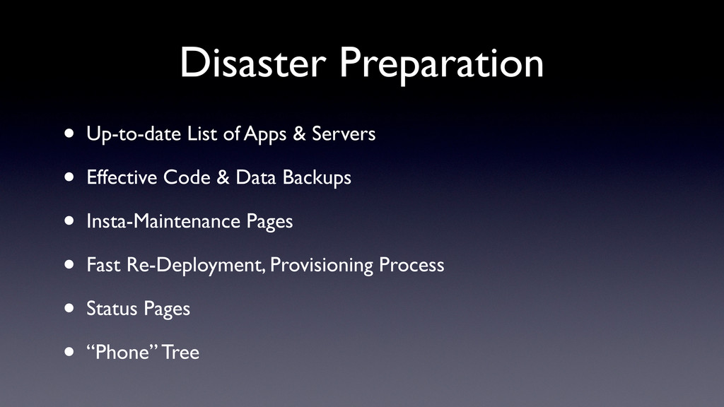 Disaster Preparation • Up-to-date List of Apps ...
