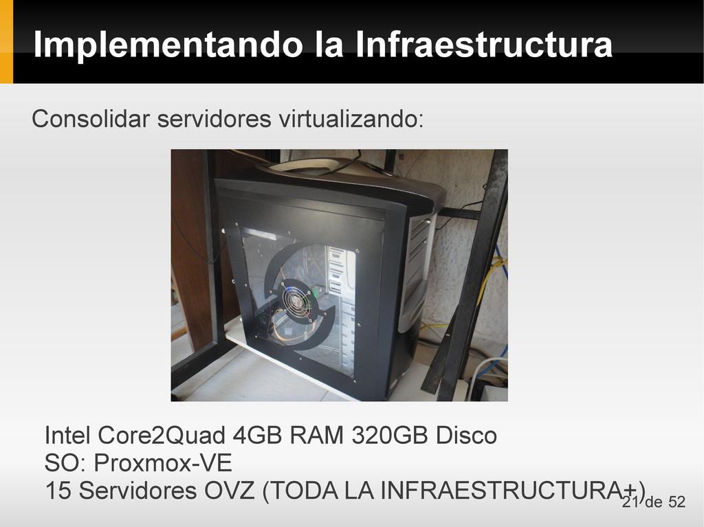 Consolidar servidores virtualizando: Intel Core...