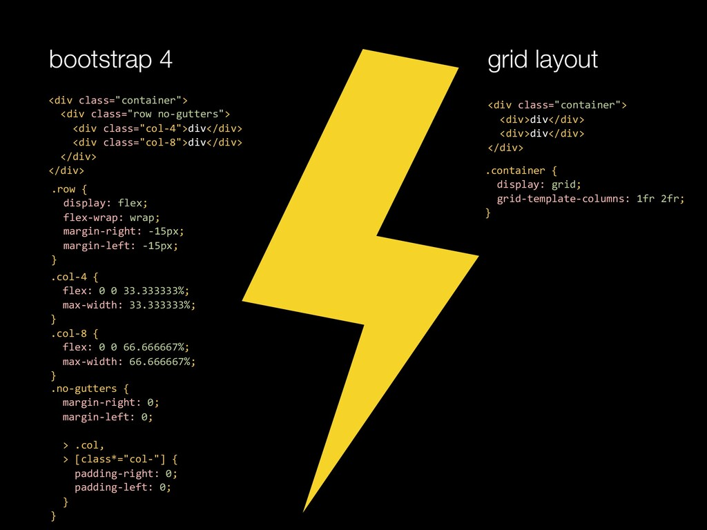 "bootstrap 4 grid layout <div class=""container"">..."