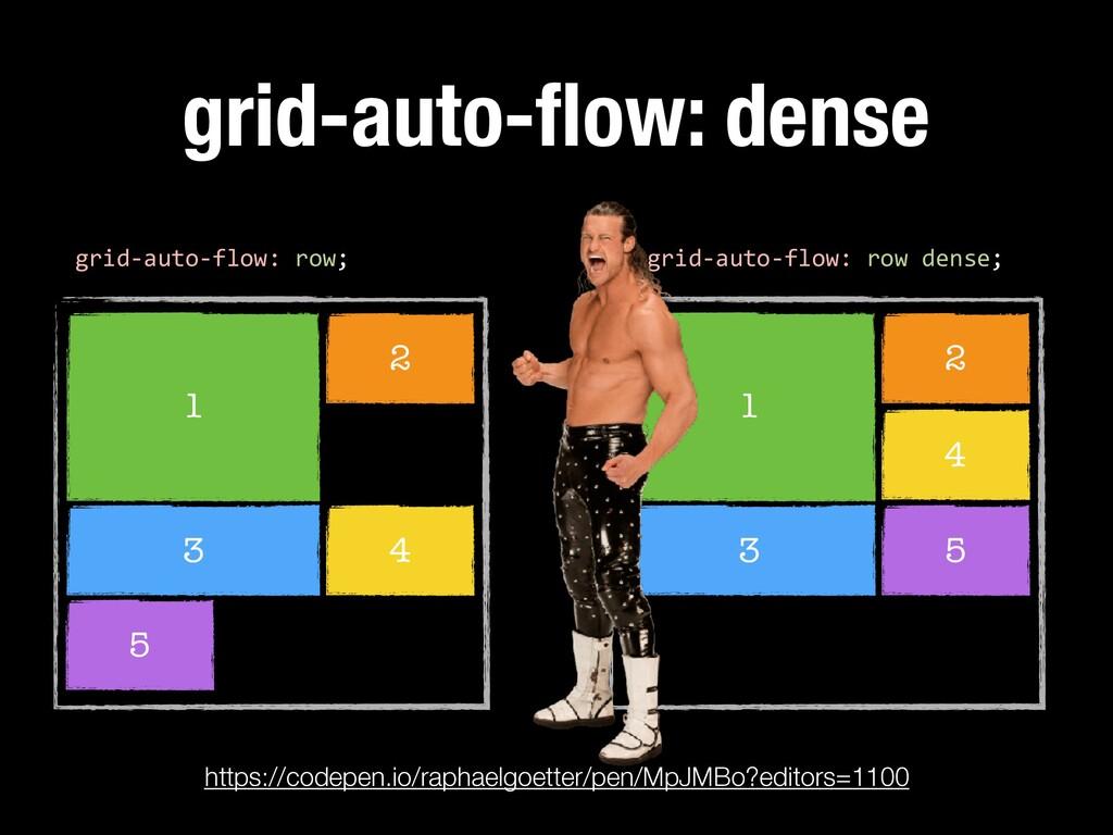1 2 3 grid-auto-flow: dense 4 5 grid-auto-flow: ...