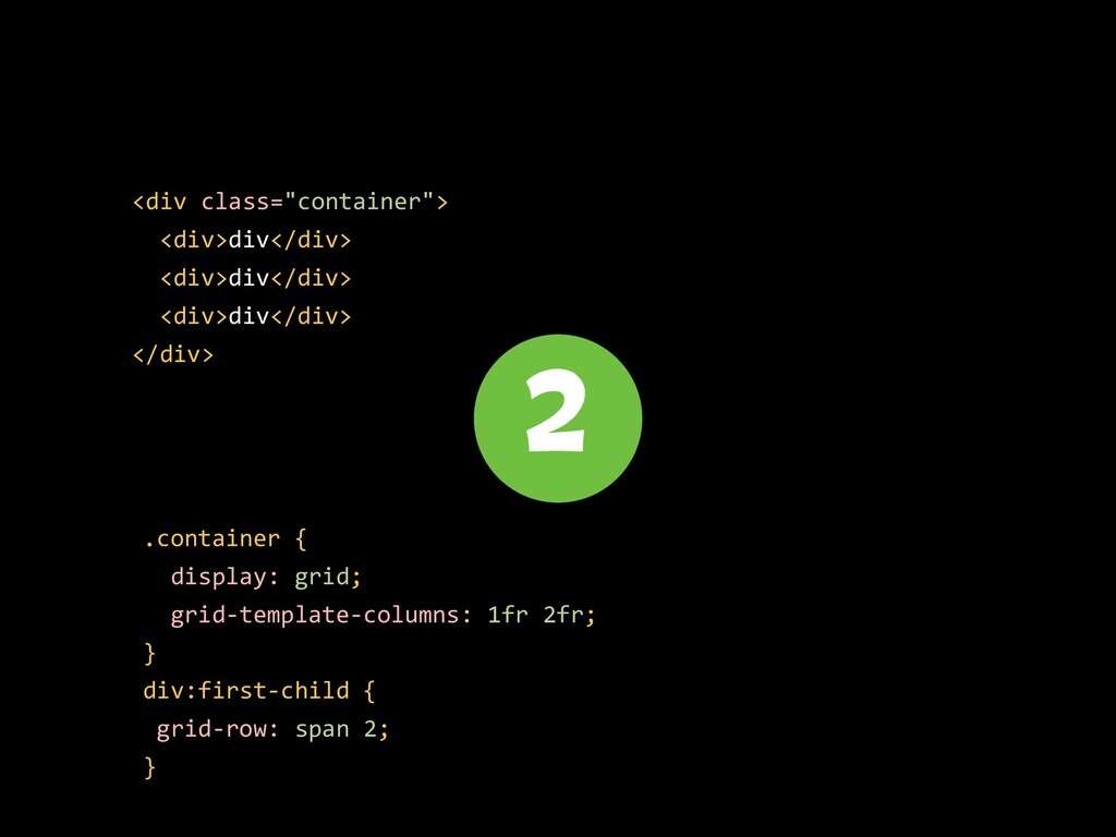 """<div class=""""container""""> <div>div</div> <div>div..."""