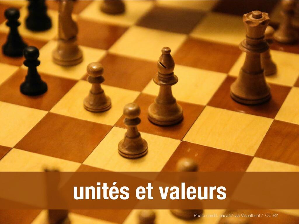 unités et valeurs Photo credit: pasa47 via Visu...