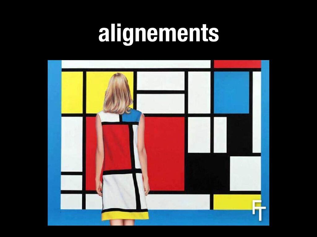 alignements