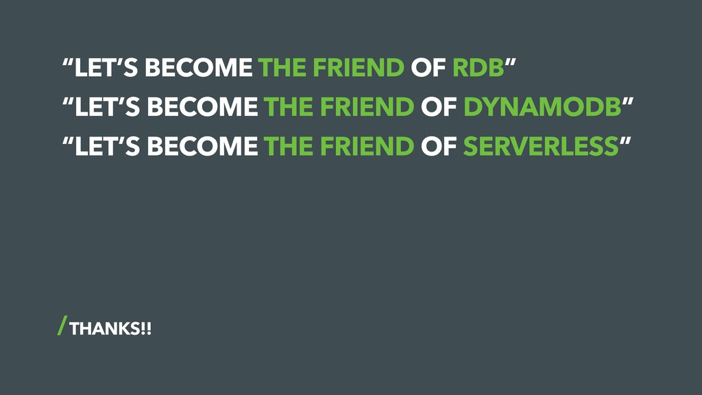 """LET'S BECOME THE FRIEND OF RDB"" THANKS!! ""LET'..."