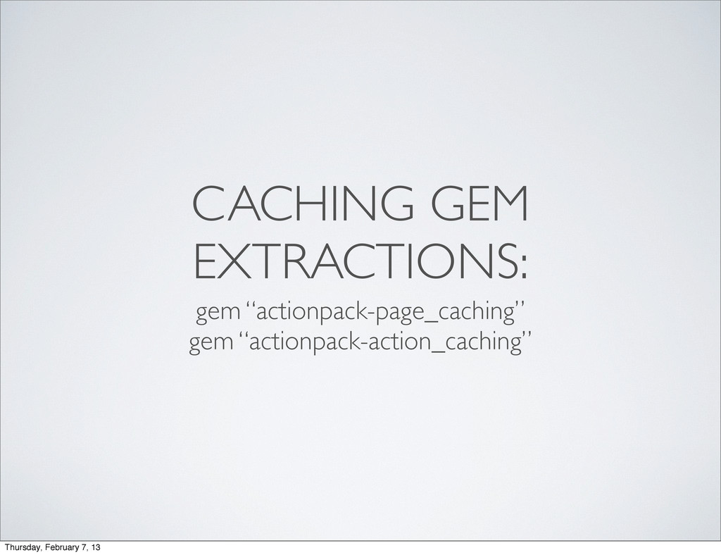 """CACHING GEM EXTRACTIONS: gem """"actionpack-page_c..."""