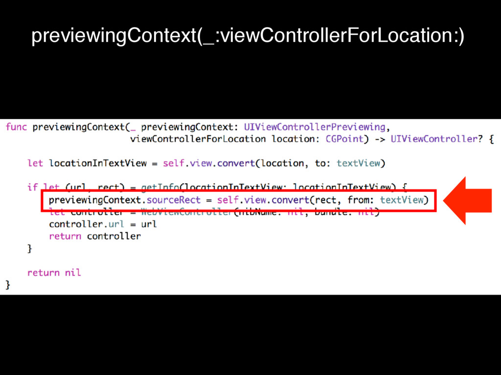 previewingContext(_:viewControllerForLocation:)