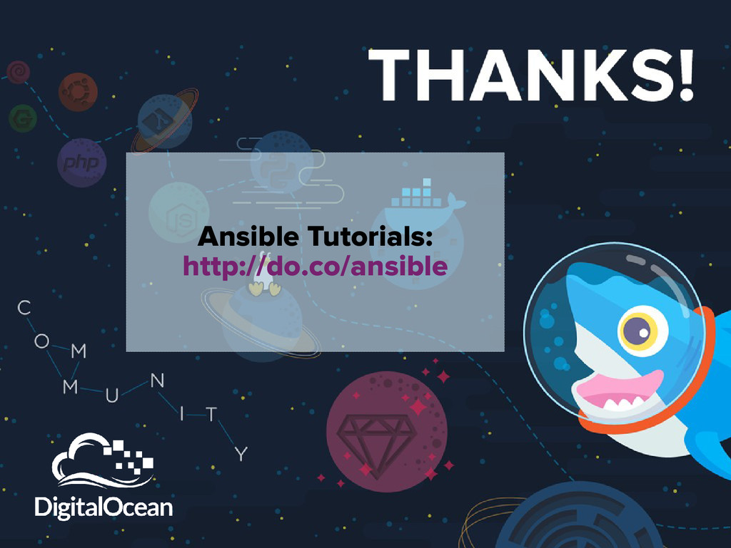 Ansible Tutorials: http://do.co/ansible