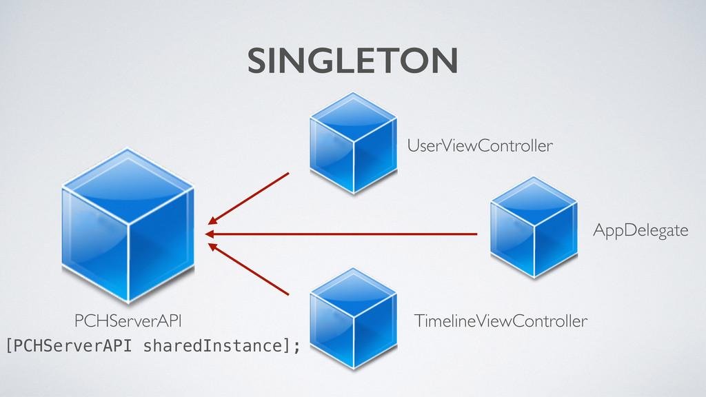 SINGLETON PCHServerAPI UserViewController Timel...