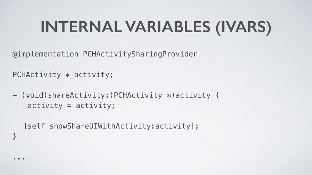 @implementation PCHActivitySharingProvider PCHA...