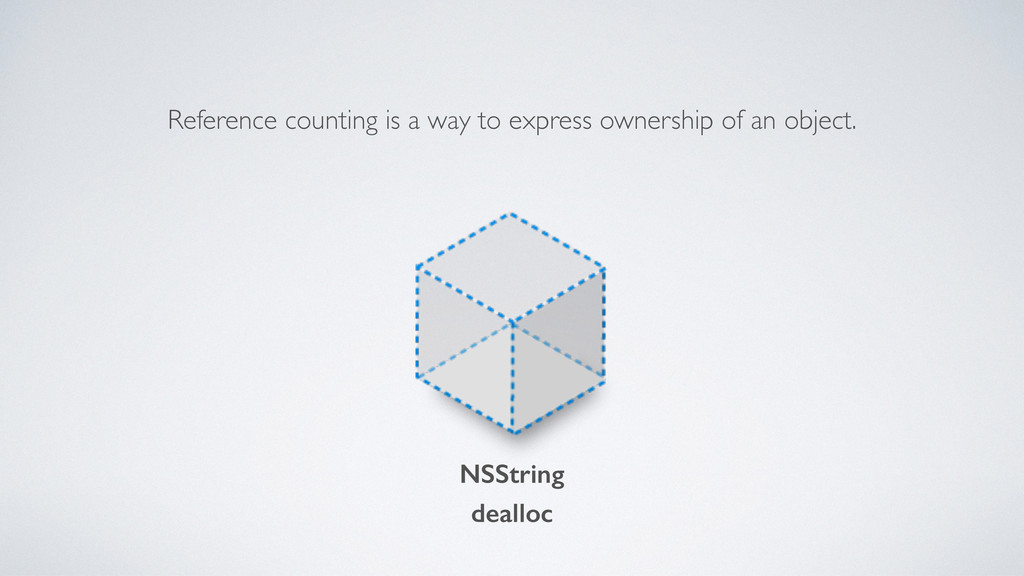 Reference counting is a way to express ownershi...