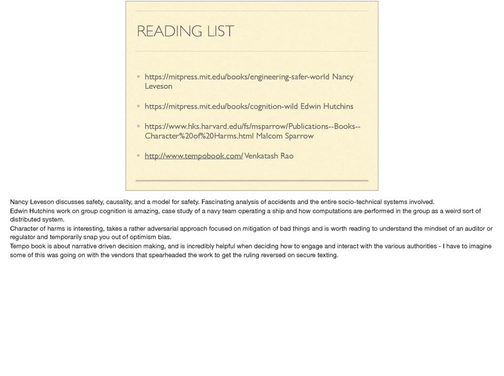 READING LIST • https://mitpress.mit.edu/books/e...