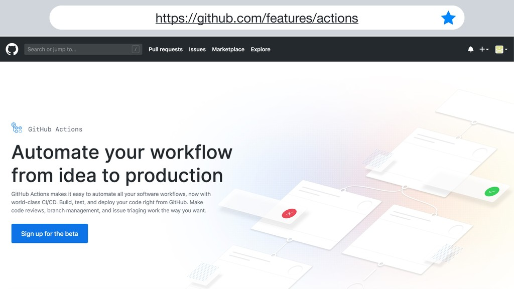 https://github.com/features/actions