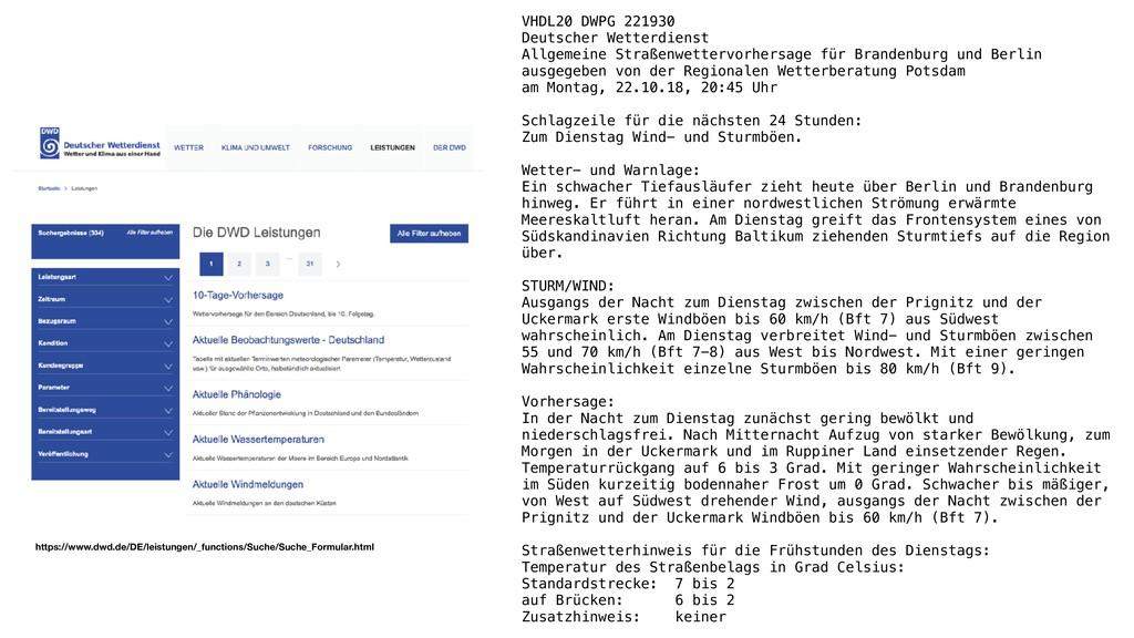 VHDL20 DWPG 221930 Deutscher Wetterdienst Allge...
