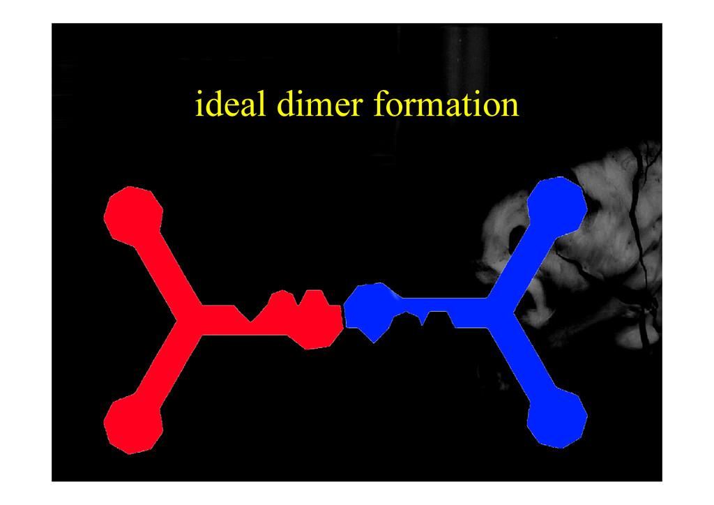 ideal dimer formation
