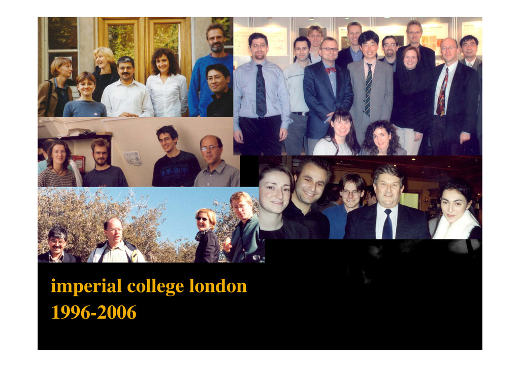 imperial college london 1996 2006 1996-2006