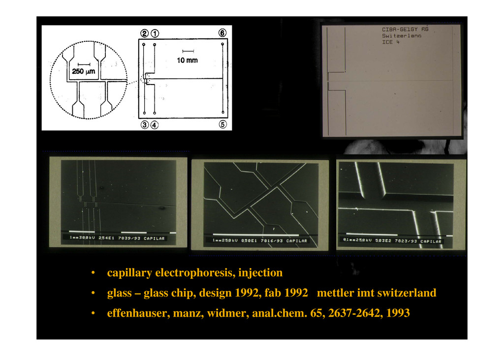 • capillary electrophoresis, injection • glass ...