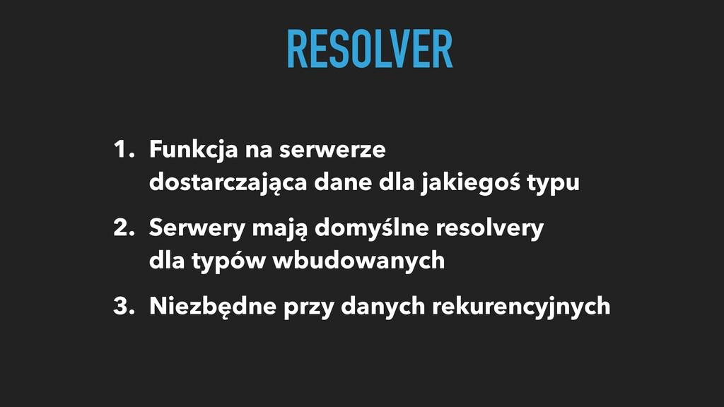 1. Funkcja na serwerze dostarczająca dane dla j...