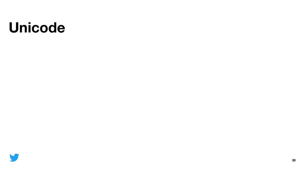 Unicode 30