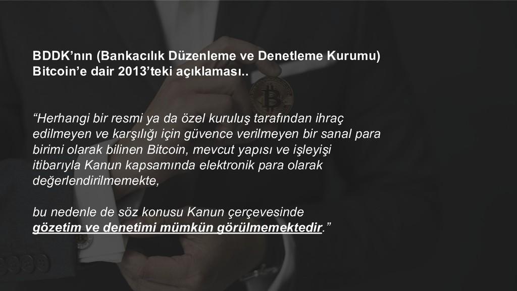 BDDK'nın (Bankacılık Düzenleme ve Denetleme Kur...