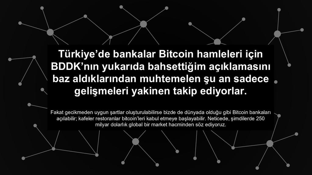 Türkiye'de bankalar Bitcoin hamleleri için BDDK...