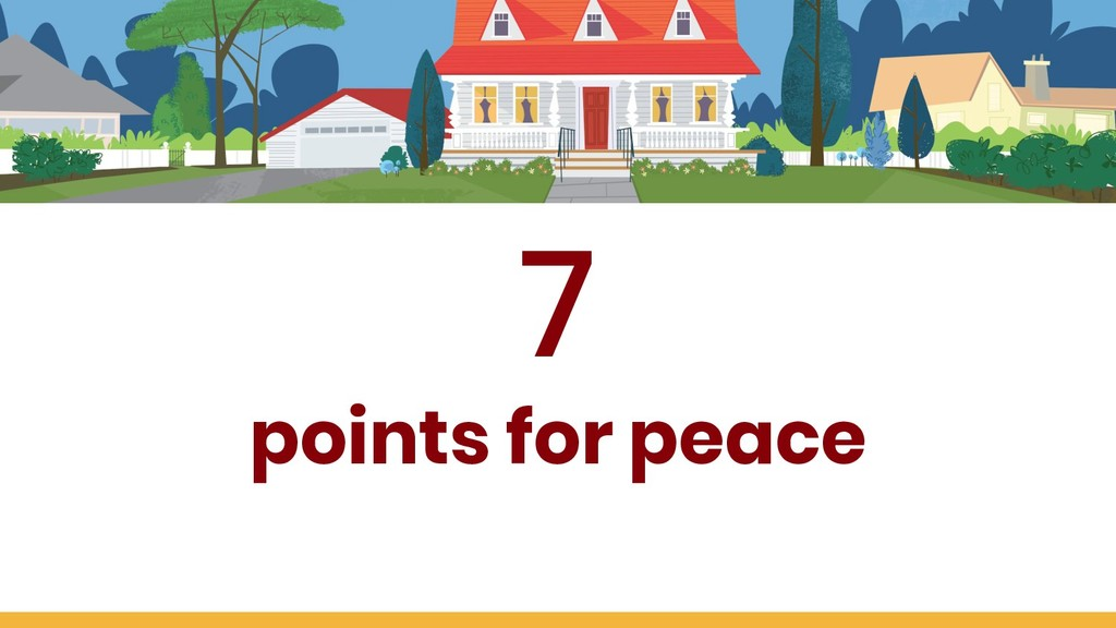 7 points for peace