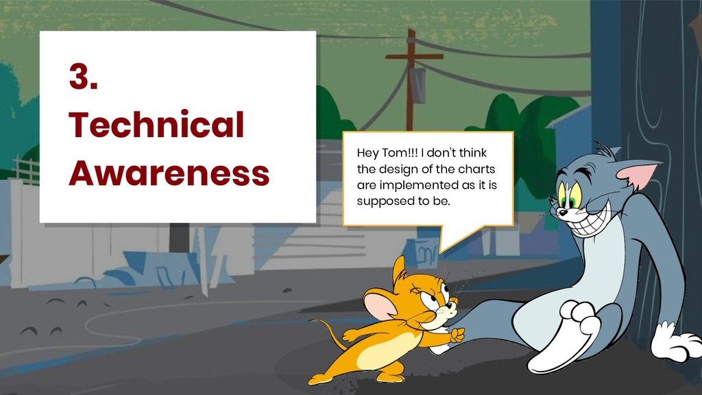 3. Technical Awareness Hey Tom!!! I don't think...