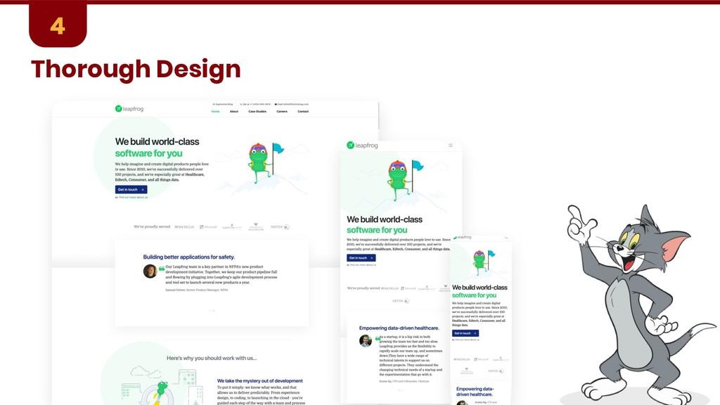 Thorough Design 4