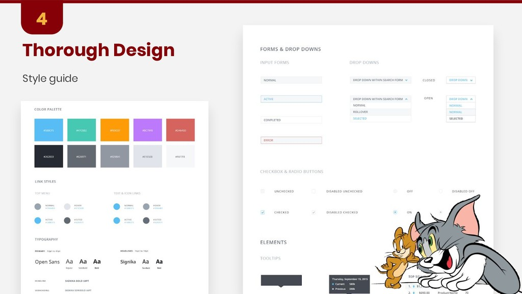 Thorough Design 4 Style guide