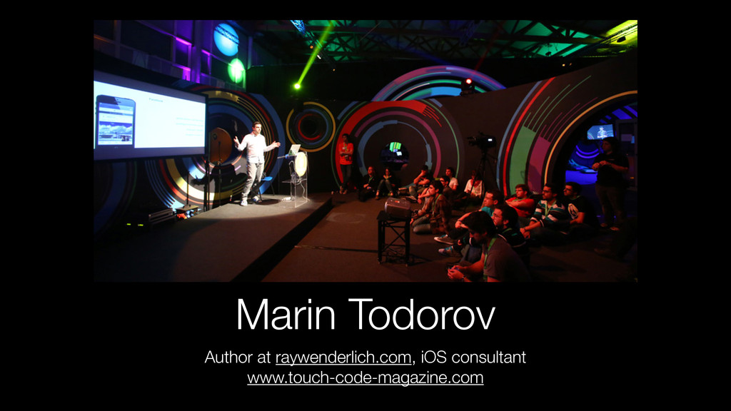 Marin Todorov Author at raywenderlich.com, iOS ...