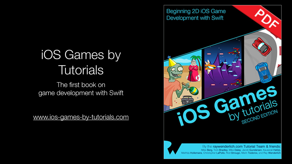 iOS Games by Tutorials The first book on