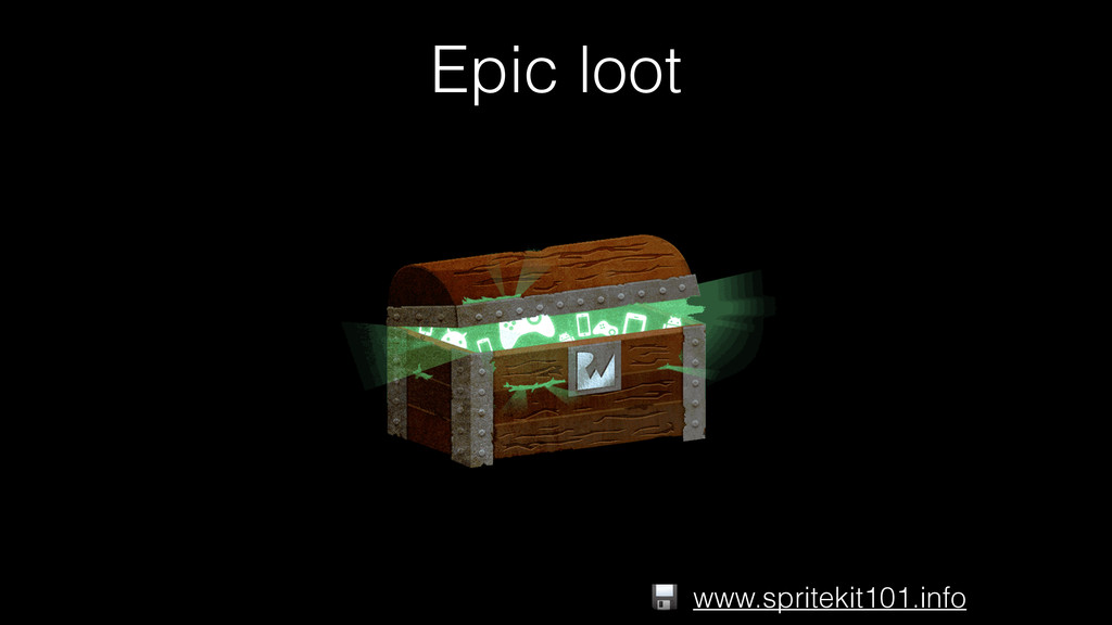 Epic loot www.spritekit101.info