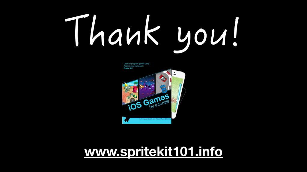 www.spritekit101.info 6JCPM[QW