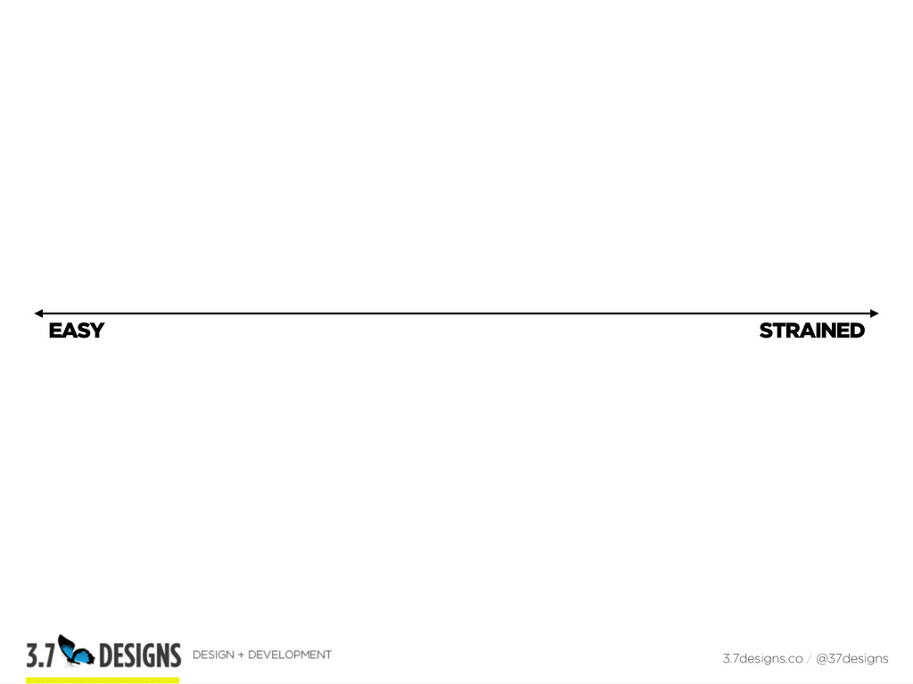 EASY 3.7designs.co / @37designs STRAINED