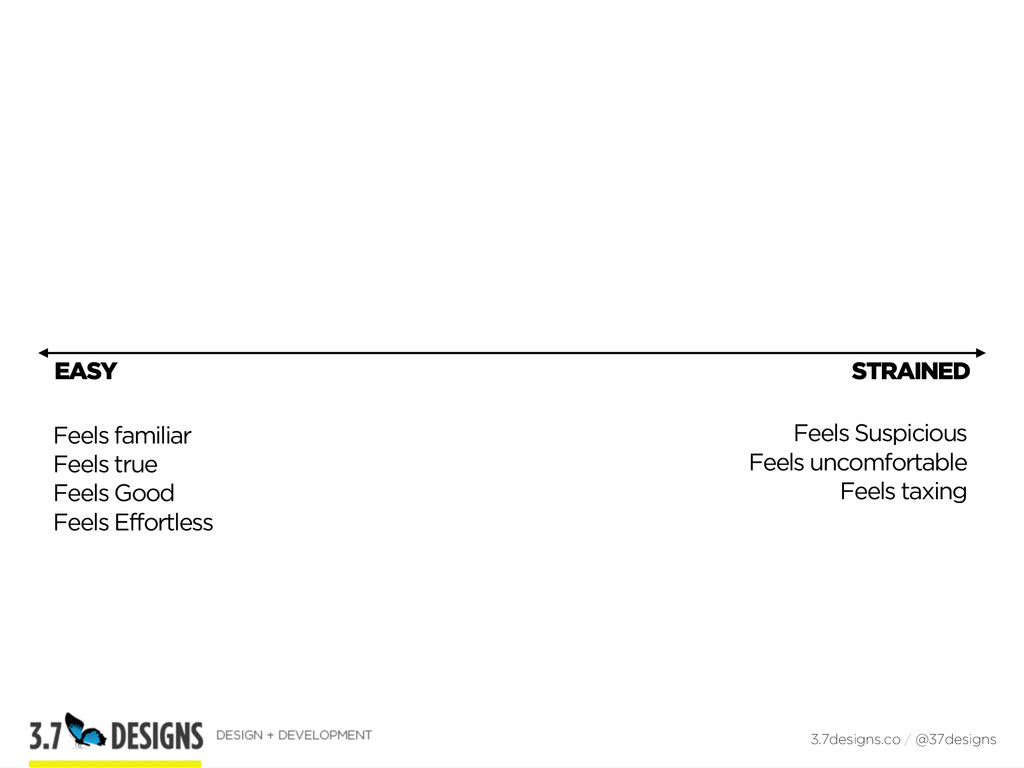 EASY 3.7designs.co / @37designs STRAINED Feels ...