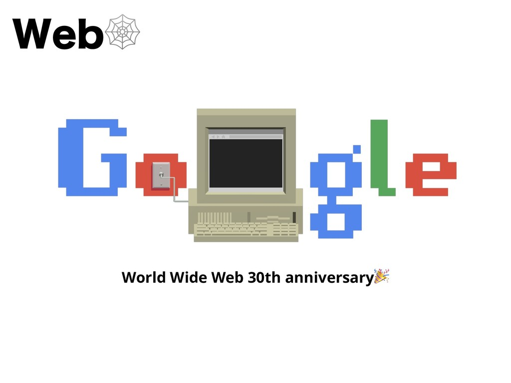 8FC World Wide Web 30th anniversary