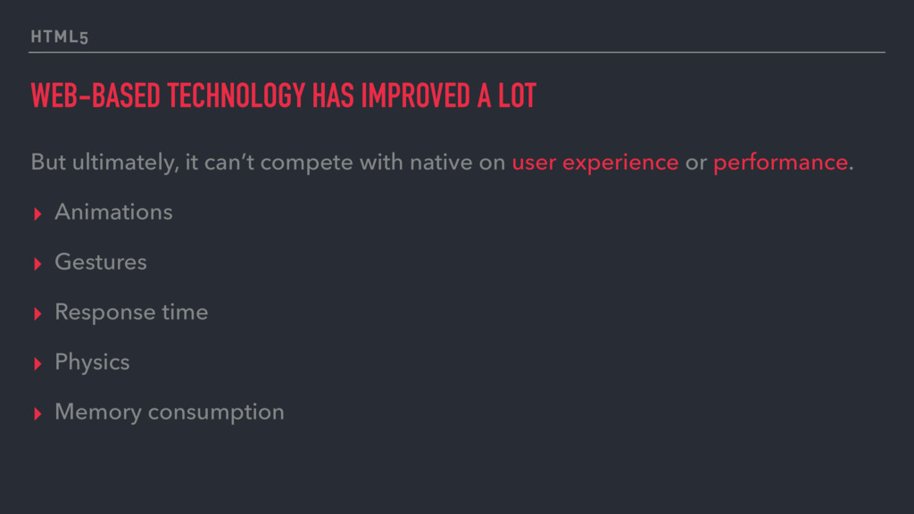 WEB-BASED TECHNOLOGY HAS IMPROVED A LOT But ult...
