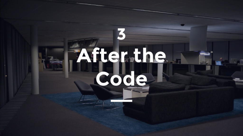 3 After the Code
