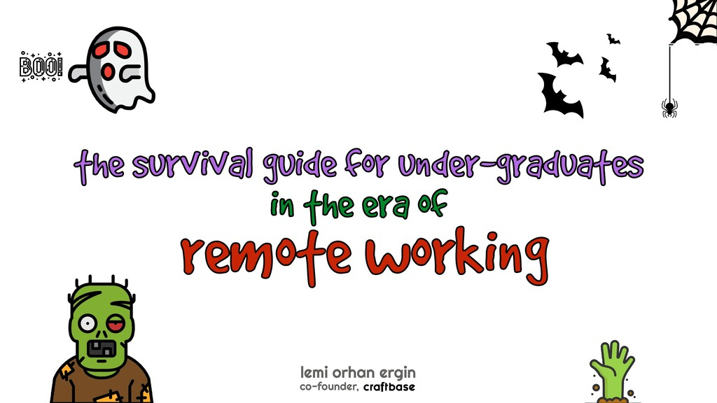 remote working the survival guide for under-gra...