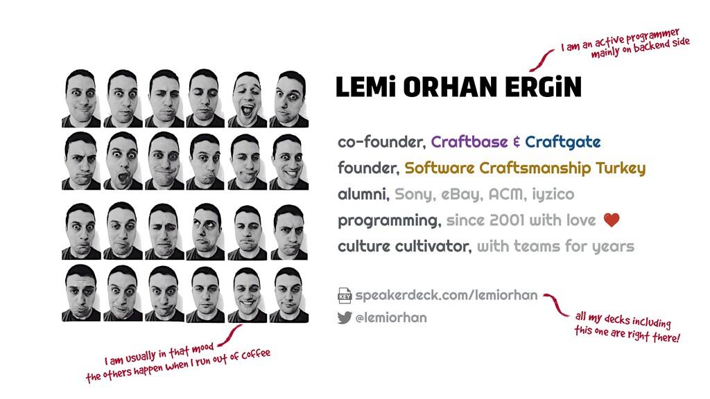 LEMi ORHAN ERGiN co-founder, Craftbase & Craftg...