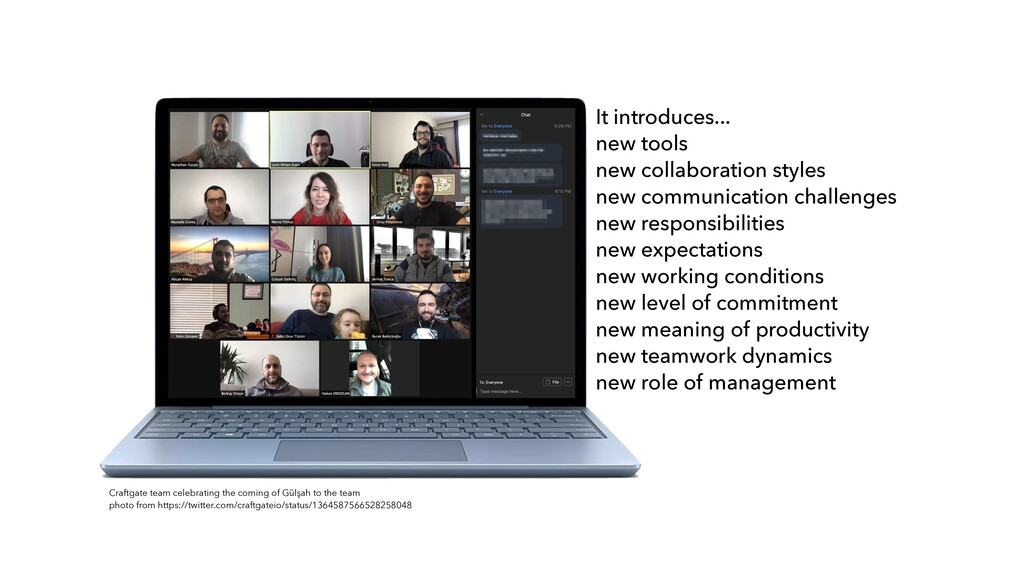 It introduces...   new tools   new collaboratio...