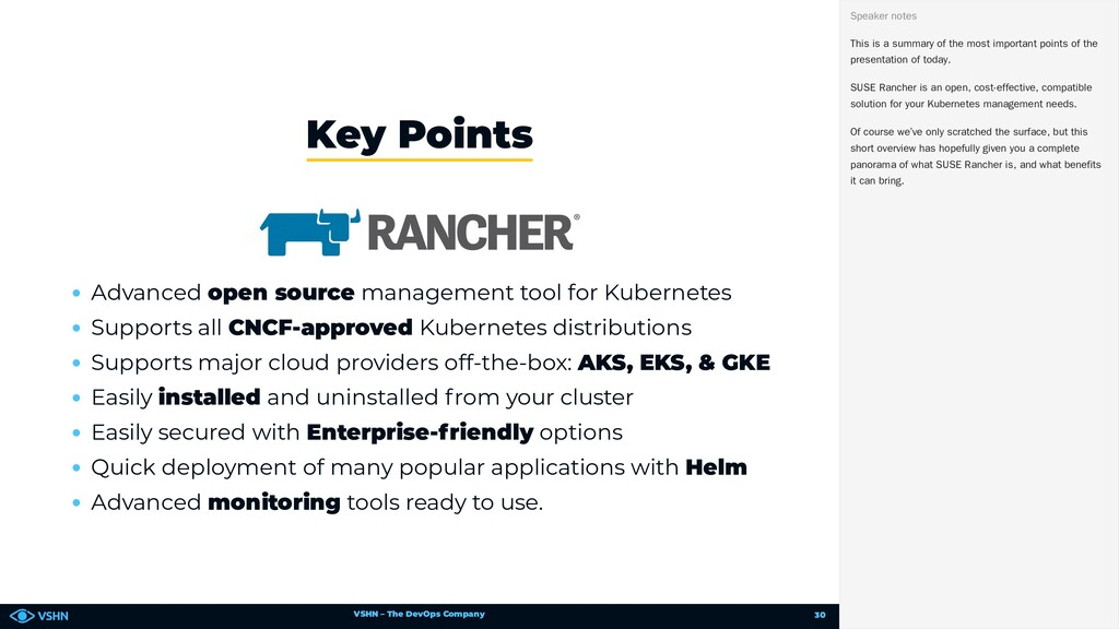 VSHN – The DevOps Company Advanced open source ...