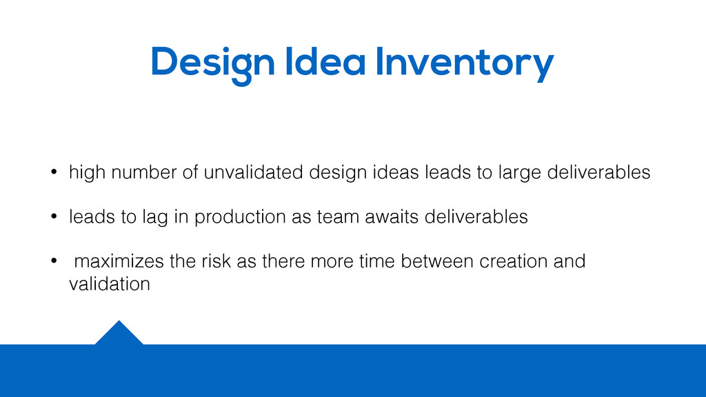 Design Idea Inventory • high number of unvalida...