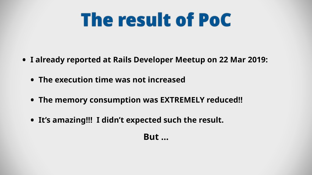 The result of PoC • I already reported at Rails...