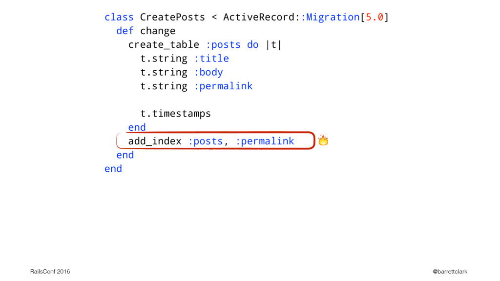 class CreatePosts < ActiveRecord::Migration[5.0...
