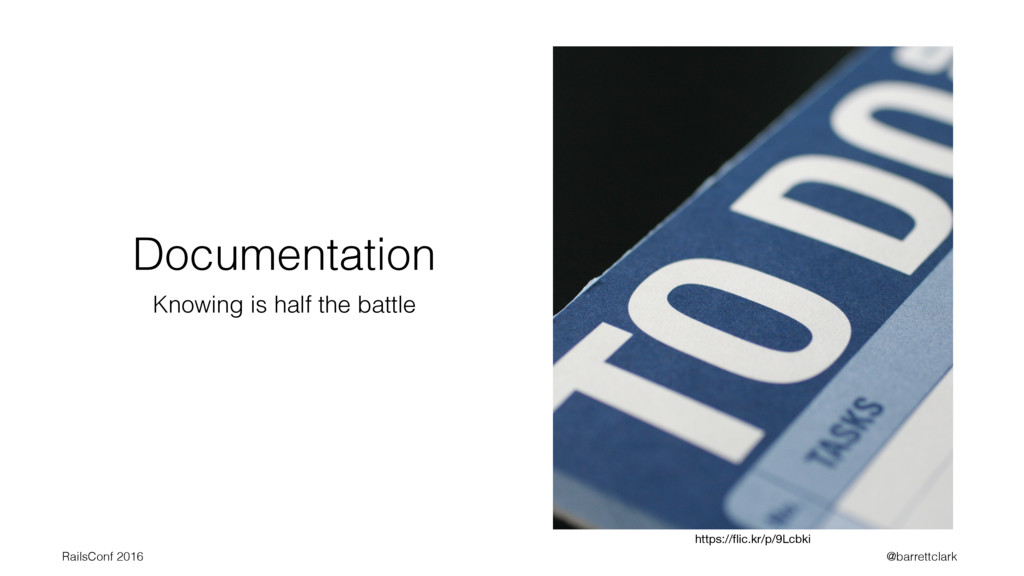 Documentation Knowing is half the battle https:...