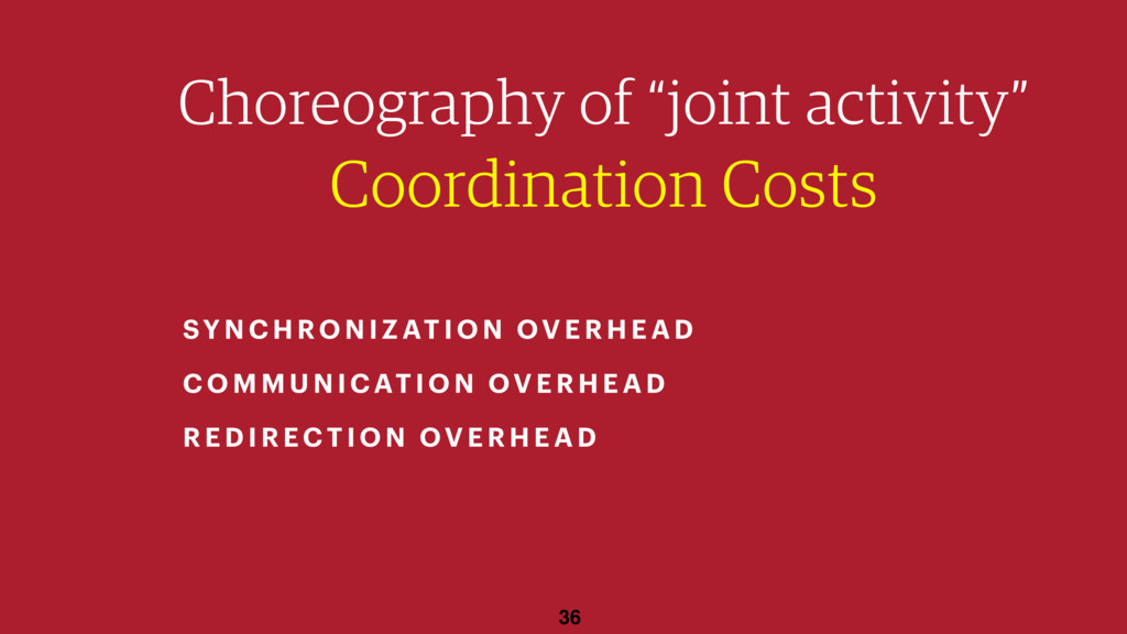 "36 Choreography of ""joint activity"" Coordinatio..."