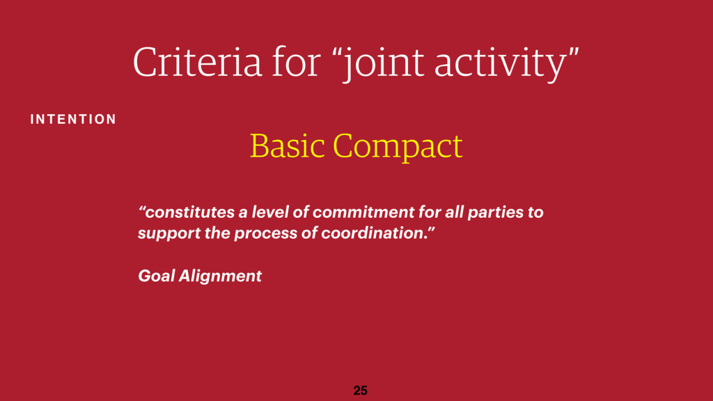 "25 Basic Compact ""constitutes a level of commit..."