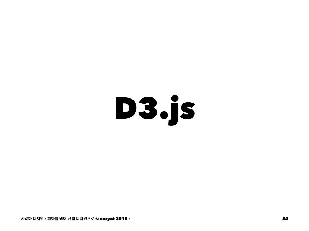 D3.js दпച ٣ੋ - ഥചܳ ֈয ӏ ٣ੋਵ۽ © nacyot 2015 -...
