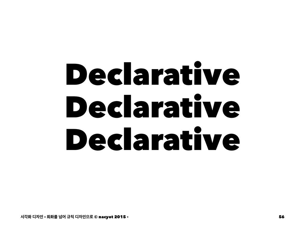 Declarative Declarative Declarative दпച ٣ੋ - ഥ...
