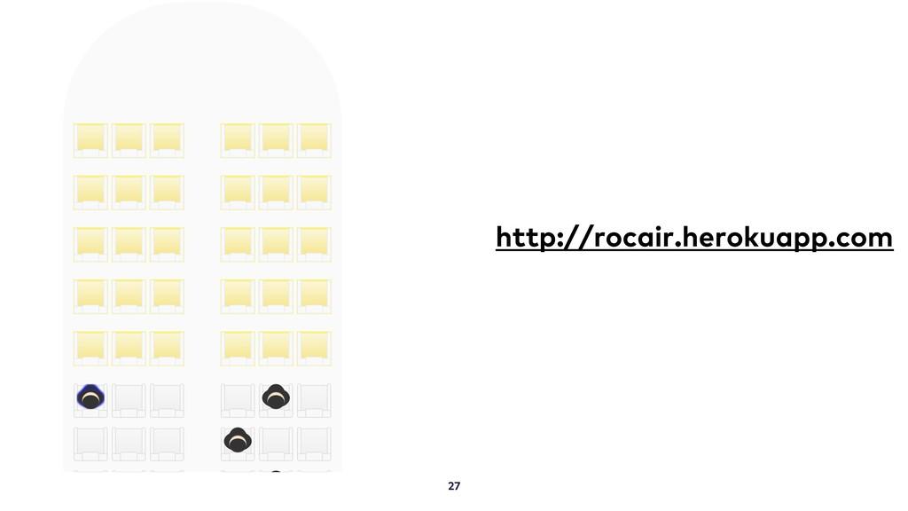 27 http://rocair.herokuapp.com